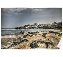 Tenby Harbour North Beach View 7 Poster