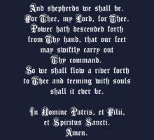 The Shepherd's Prayer One Piece - Short Sleeve