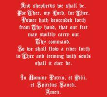 The Shepherd's Prayer Kids Tee