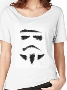 Star Wars Stormtrooper Painting Women's Relaxed Fit T-Shirt
