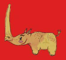 Golden Rhino One Piece - Short Sleeve