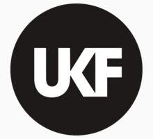 UKF-Black and White Kids Tee