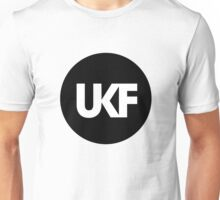 UKF-Black and White Unisex T-Shirt