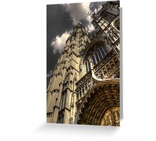 Antwerp Cathedral Greeting Card