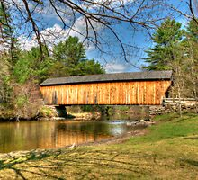 Corbin Covered Bridge No. 17 by Monica M. Scanlan