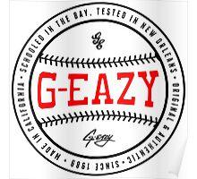G-Eazy Baseball Poster