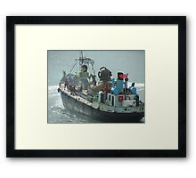 LIVERPOOL SEA ODYSSEY Framed Print