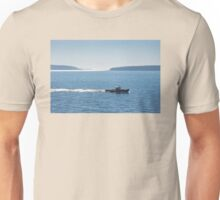 Lobster Boat And Islands Off Mount Desert Island Maine Unisex T-Shirt