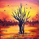 Sunset Take Two by Corrina Holyoake