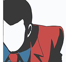 Lupin no face Photographic Print