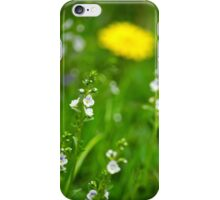 Grass Wildflowers iPhone Case/Skin