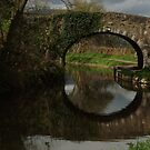 Old stone bridge by Joyce Knorz