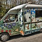 Painted Camper Van by Steve Purnell