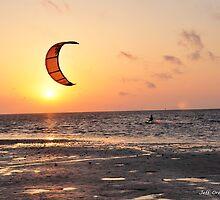 Parasurfer at Sunrise by Jeff Ore