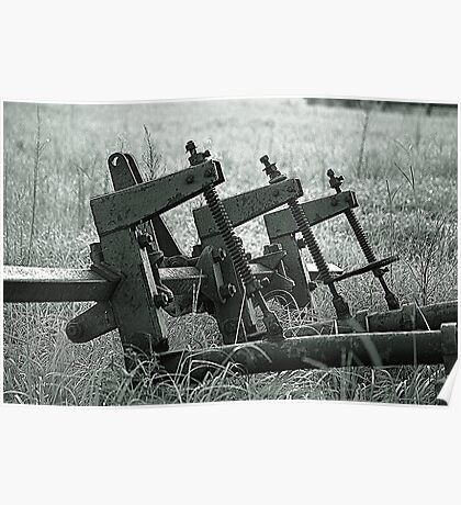 Farm Equipment Poster