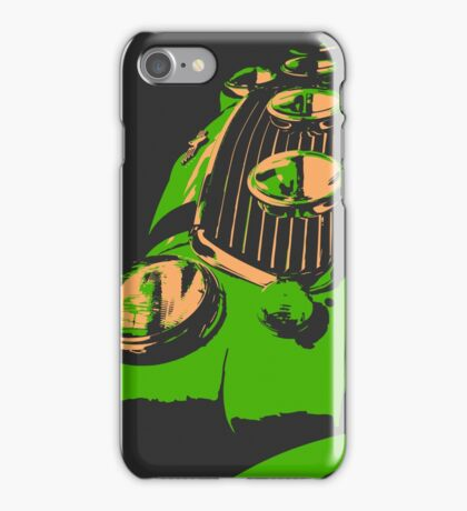Classic Mini - Green iPhone Case/Skin