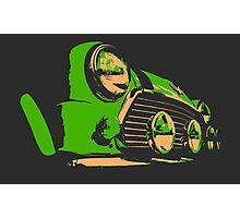 Classic Mini - Green Photographic Print