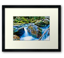 mountains streams Framed Print