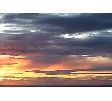 Westward Ho! sunset 444 Photographic Print