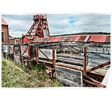 Decaying Railway Wagon 2 Poster