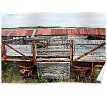 Decaying Railway Wagon 3 Poster