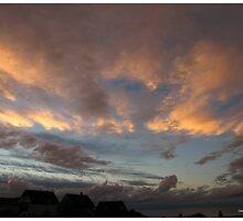 SKY AT NIGHT ,WESTWARD HO! by Gea Austen