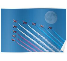 Lunar Fly Past Poster
