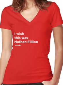 Everyones wish pt. 2 Women's Fitted V-Neck T-Shirt