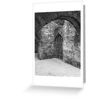 Corridors of the Spirit Greeting Card