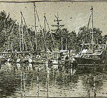 Hamilton Bay. by Guennadi Kalinine