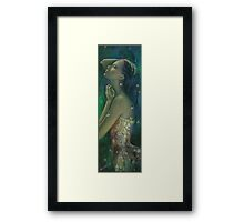Sometimes I feel so temporary... Framed Print