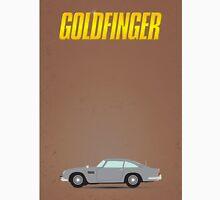 James Bond - Goldfinger minimalist poster Unisex T-Shirt