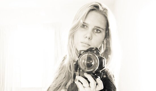 Growing Up - Self Portrait by Margo Naude