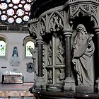 St.Albans Cathedral - Pulpit  by rsangsterkelly