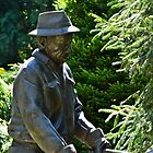 The Gardener in Bronze... by Carol Clifford