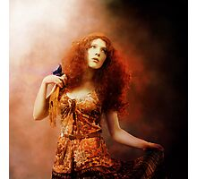 Lady Fire Photographic Print