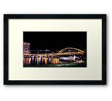 Bridge - The Gateway Clipper (Pittsburgh) Framed Print