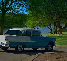 1955 Chevrolet Bel Air  by TeeMack