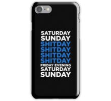 SHITDAY iPhone Case/Skin
