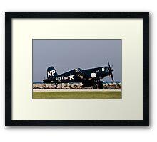 Corsair Framed Print