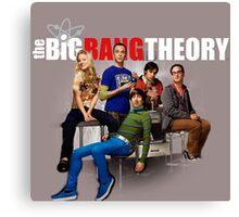 Bazinga Big Bang Theory Canvas Print