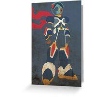 Megaman X Greeting Card