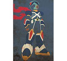 Megaman X Photographic Print