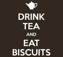 Drink Tea and Eat Biscuits T-Shirt