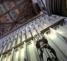St.Albans Cathedral - Above the Shrine by rsangsterkelly