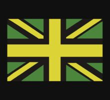 Green,yellow and black Union Jack by Chris-Cox