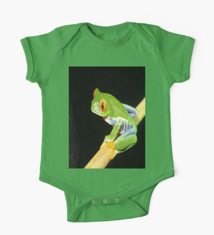 Red Eyed Tree Frog One Piece - Short Sleeve