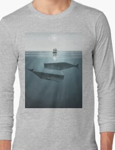 At sea. Long Sleeve T-Shirt