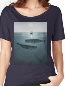 At sea. Women's Relaxed Fit T-Shirt