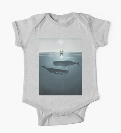 At sea. One Piece - Short Sleeve